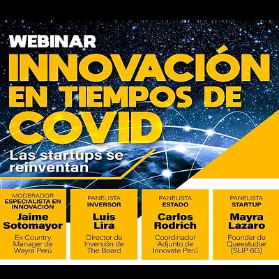 Webinar: Innovación en tiempos de COVID