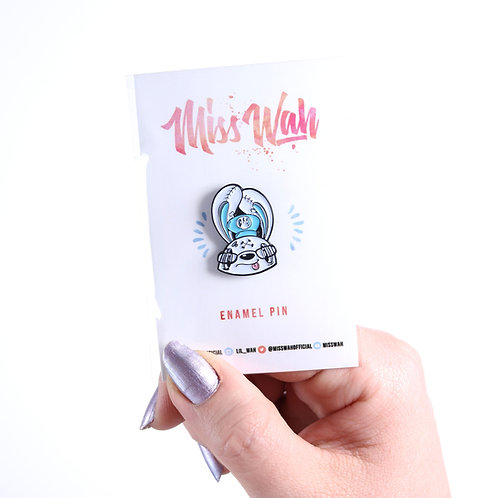 Hey Sailor! - Miss Wah Soft Enamel Pin!