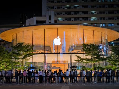 Apple posted record $111.4 billion quarter