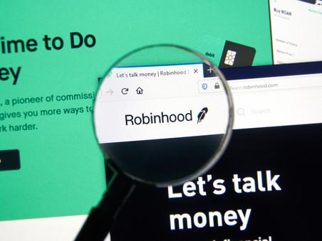 Shares rose after Robinhood suspended trading