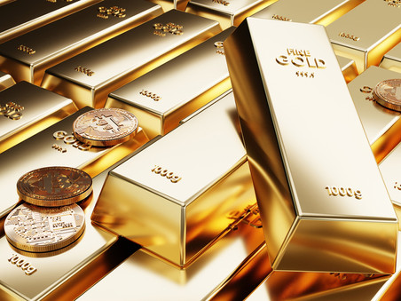 Gold is falling