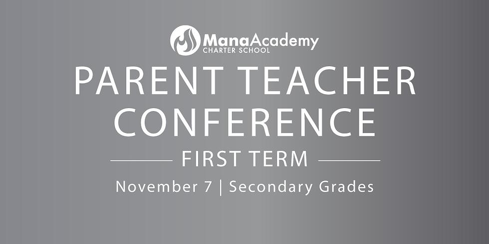 Parent Teacher Conference  - Secondary Campus