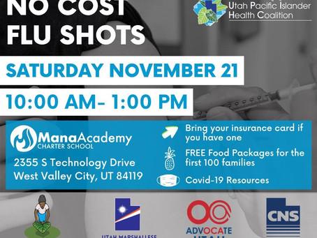 No Cost Flu Shots