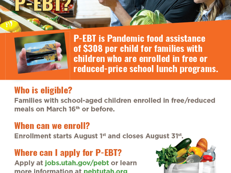 Apply for P-EBT (Pandemic EBT)