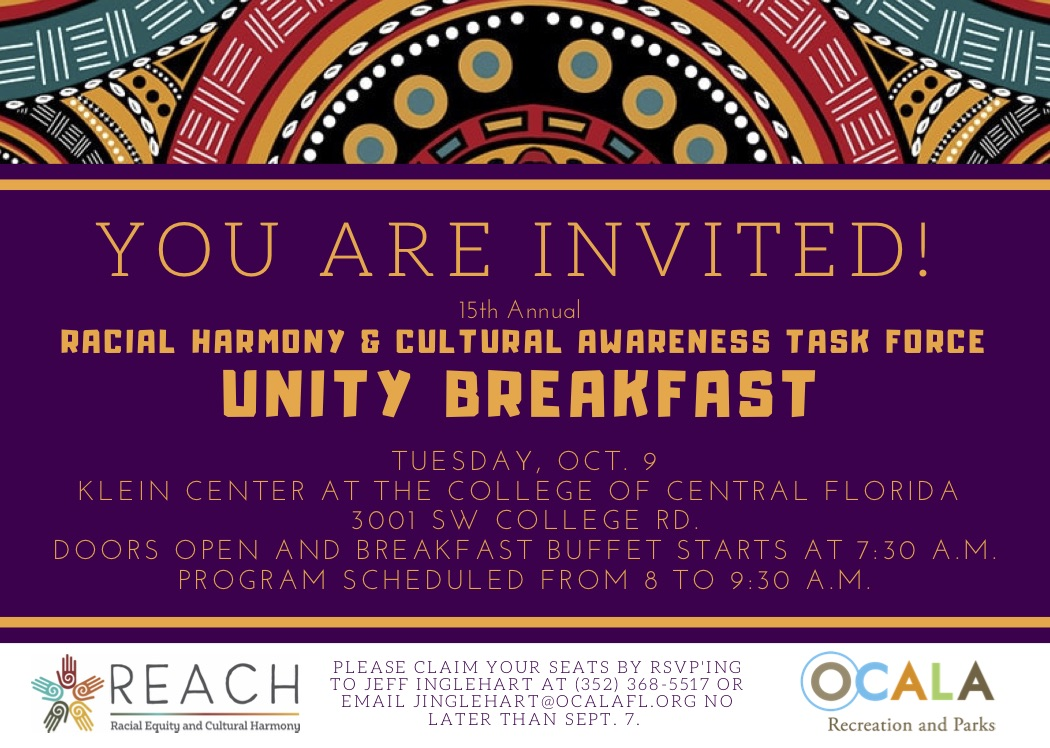 Unity Breakfast Invitation