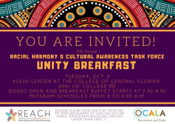 Unity Breakfast Invitation