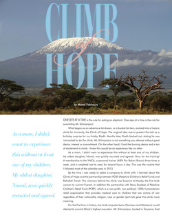 Climb Of Hope Article