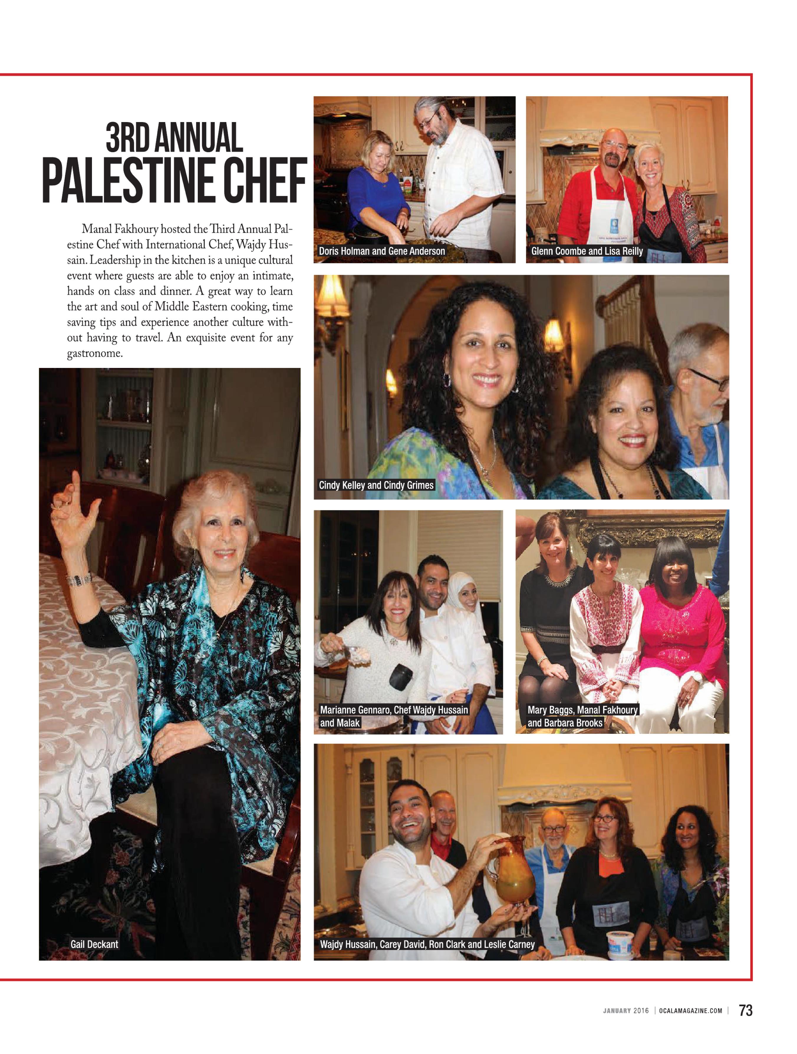 Ocala Magazine - Palestine Chef 3
