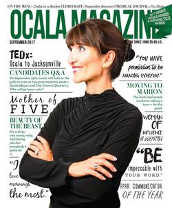 Dr. Manal - Ocala magazine cover
