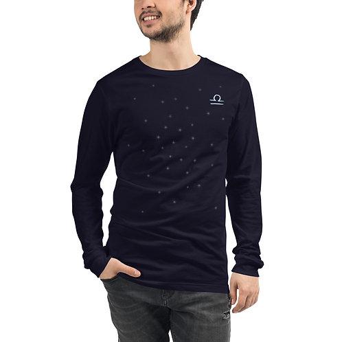 Libra Silver Long Sleeve T-Shirt