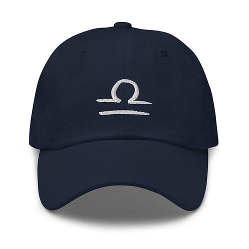 Libra Silver Dad Hat