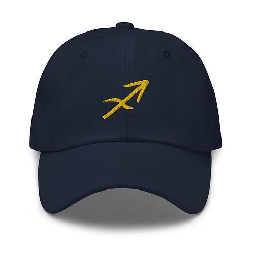Sagittarius Gold Dad Hat