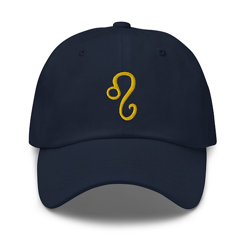 Leo Gold Dad Hat