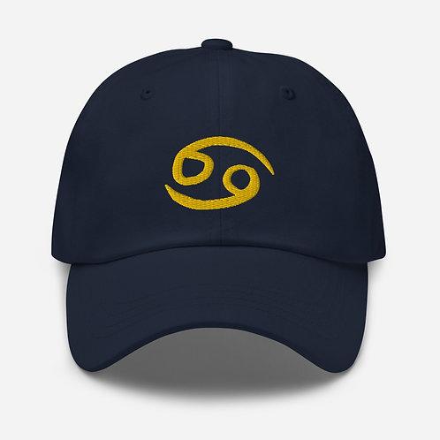 Cancer Gold Dad Hat