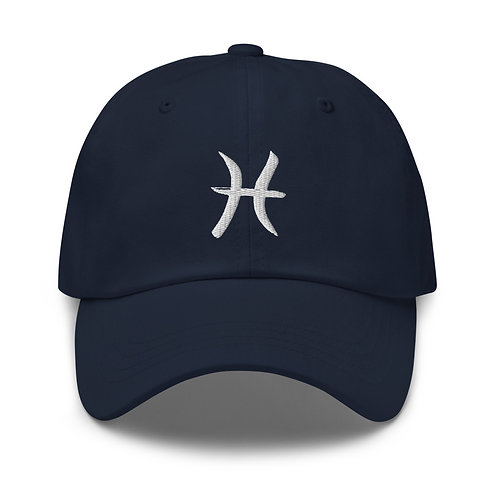 Pisces Silver Dad Hat