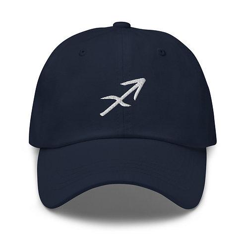 Sagittarius Silver Dad Hat