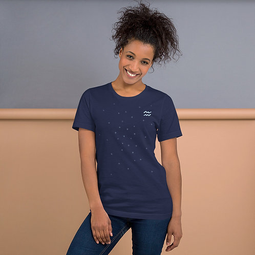 Aquarius Silver T-Shirt
