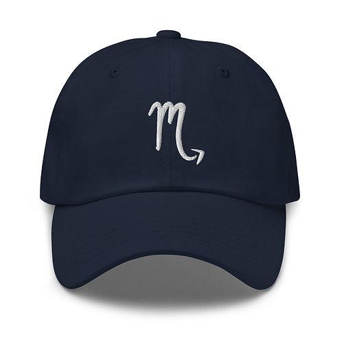Scorpio Silver Dad Hat