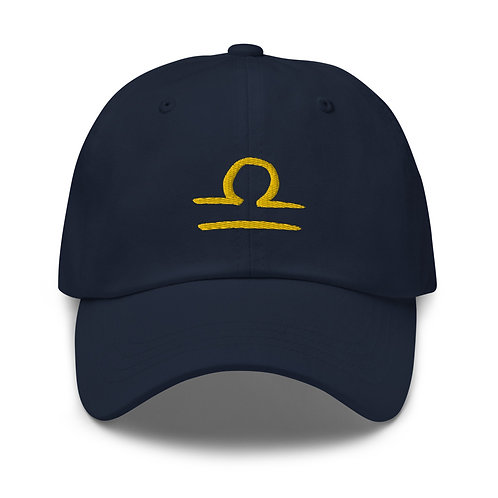 Libra Gold Dad Hat
