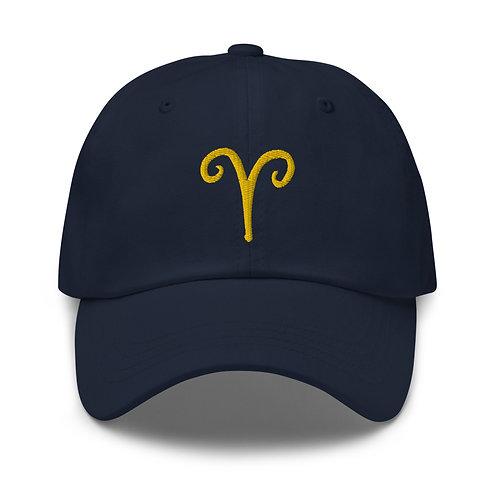 Aries Gold Dad Hat