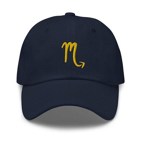 Scorpio Gold Dad Hat