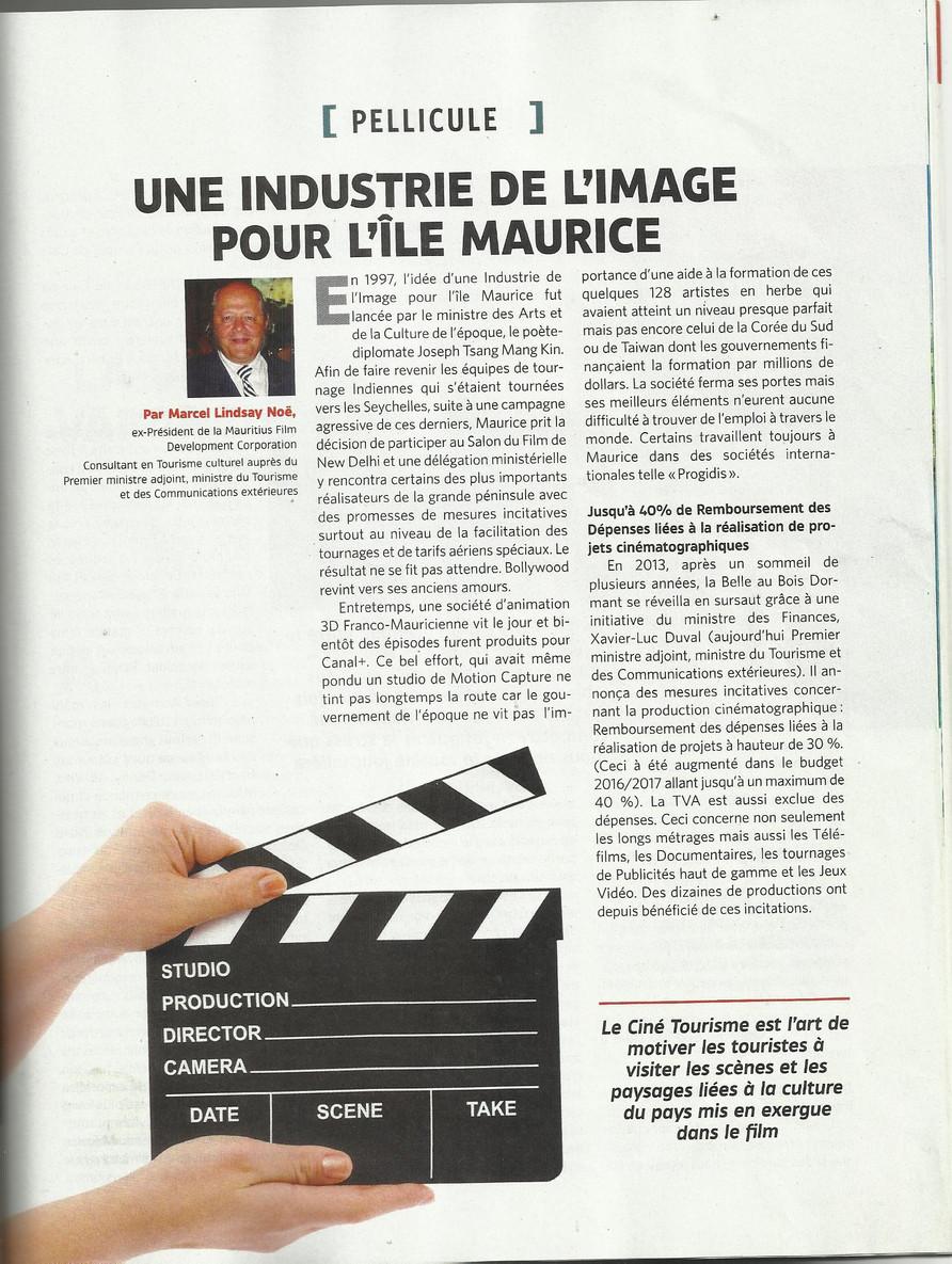 Une Industrie de L'Image pour l'Île Maurice