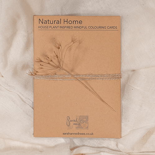 Mindful Colouring – Natural Home