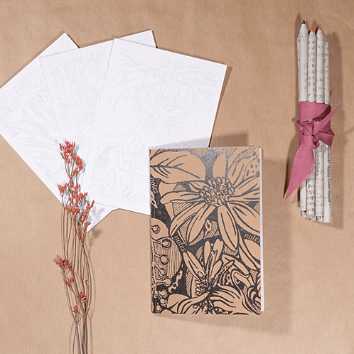 Notes of Nature - A6 notebook