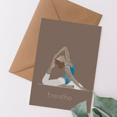 Finding Balance - Yoga inspired cards