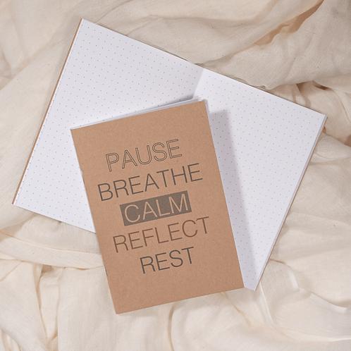 Finding Calm - A6 Notebook