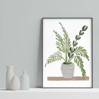 Natrual Home - Floor Plant