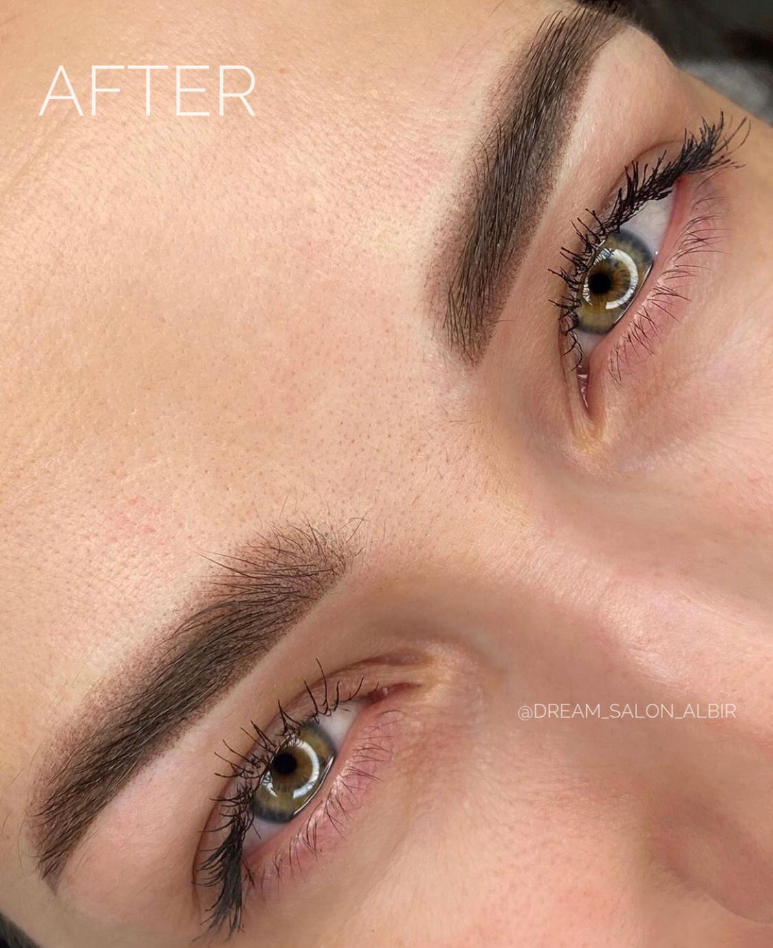 brows micropigmentation