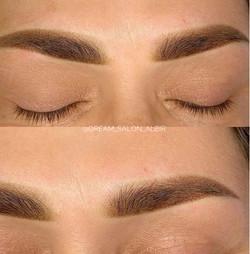 Permanent makeup Alfas del Pi. Powder Brows