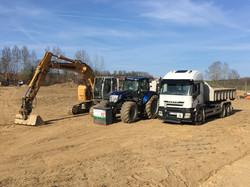 Bagger, Traktor, LKW