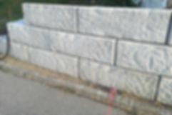 Betonmauern