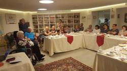 חברי החוג בבית מורשת יוון וסלוניקי