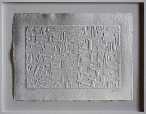 """""""Géographies"""" - aquagravure 56 x 76 cm"""