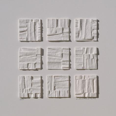 Papier artisanal - 20 x 20 cm