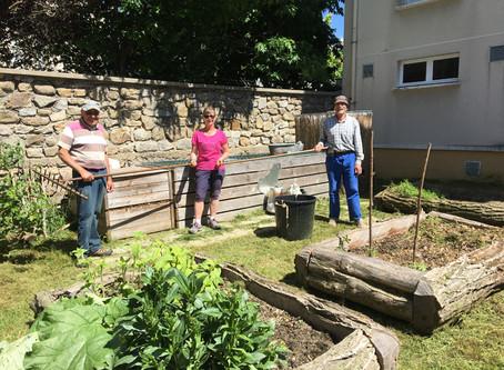 Compost et jardin partagé