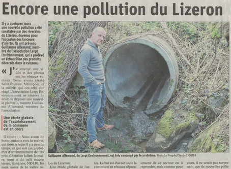 Encore une pollution du Lizeron !