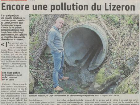 Encore une pollution du Lizeron !