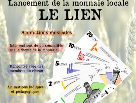 """Lancement de la monnaie locale """"le LIEN"""""""