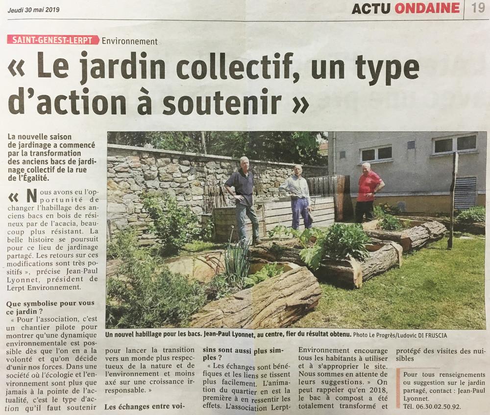 Jardin collectif Lerpt-Environnement
