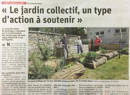 Jardin collectif : un type d'action à soutenir !