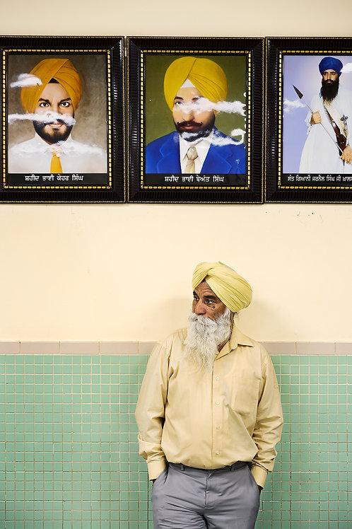 Sikh Man | Framed Print
