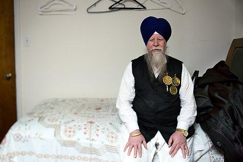 Sikh Musician | Framed Print