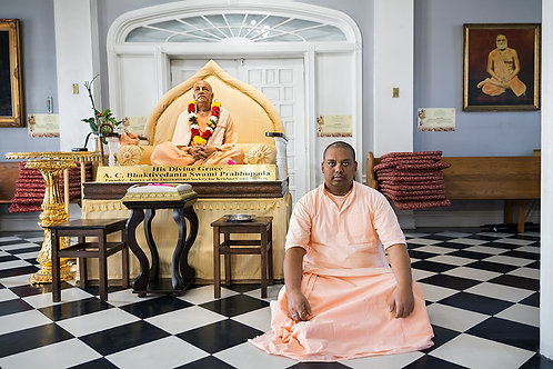 Hari Krishna Priest | Framed Print