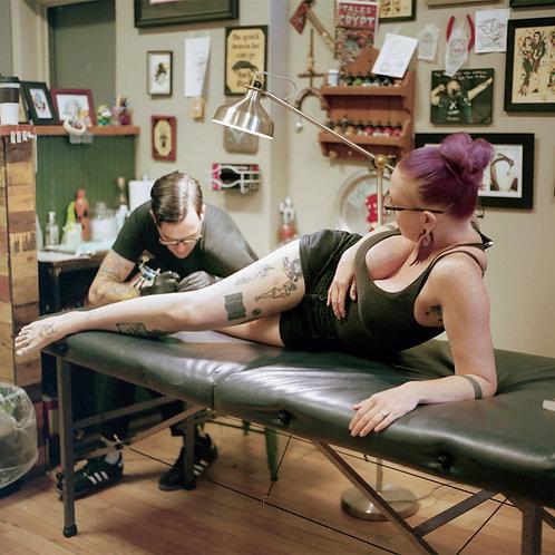Couples Tattoo | Unframed Print