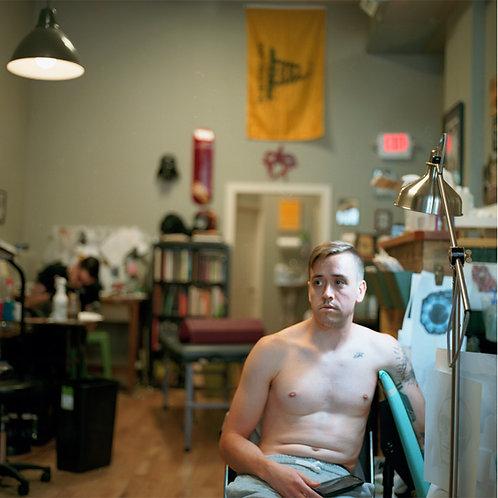 Shirtless Man | Unframed Print