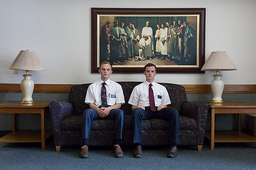 Mormon Missionaries | Framed Print